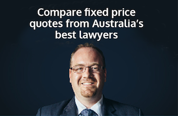 Compare fixed price quotes from Australia's fixed lawyers